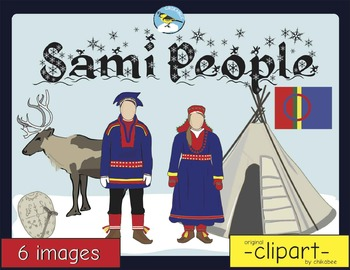 Sami People Clip Art.