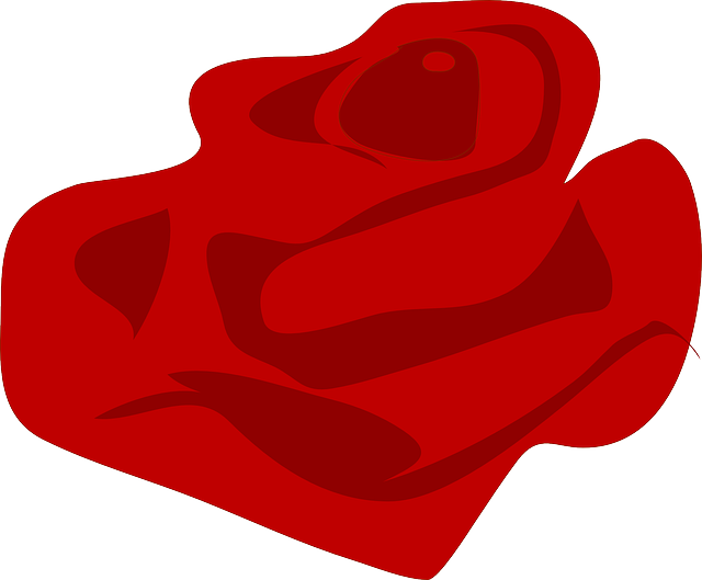 Free vector graphic: Rose, Red, Petals, Love, Romance.