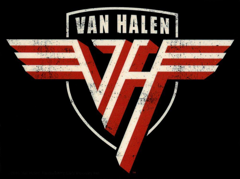 5601 Van Halen Logo Rock Music Band 1980s 1990s Sammy Hagar Sticker / Decal  New.