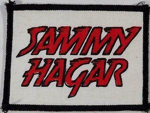 Sammy Hagar patch. in 2019.