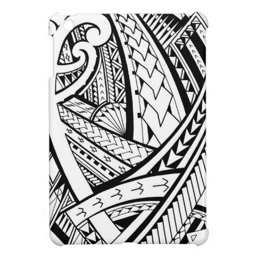 Polynesian Tribal Wallpaper: Samoa Clipart