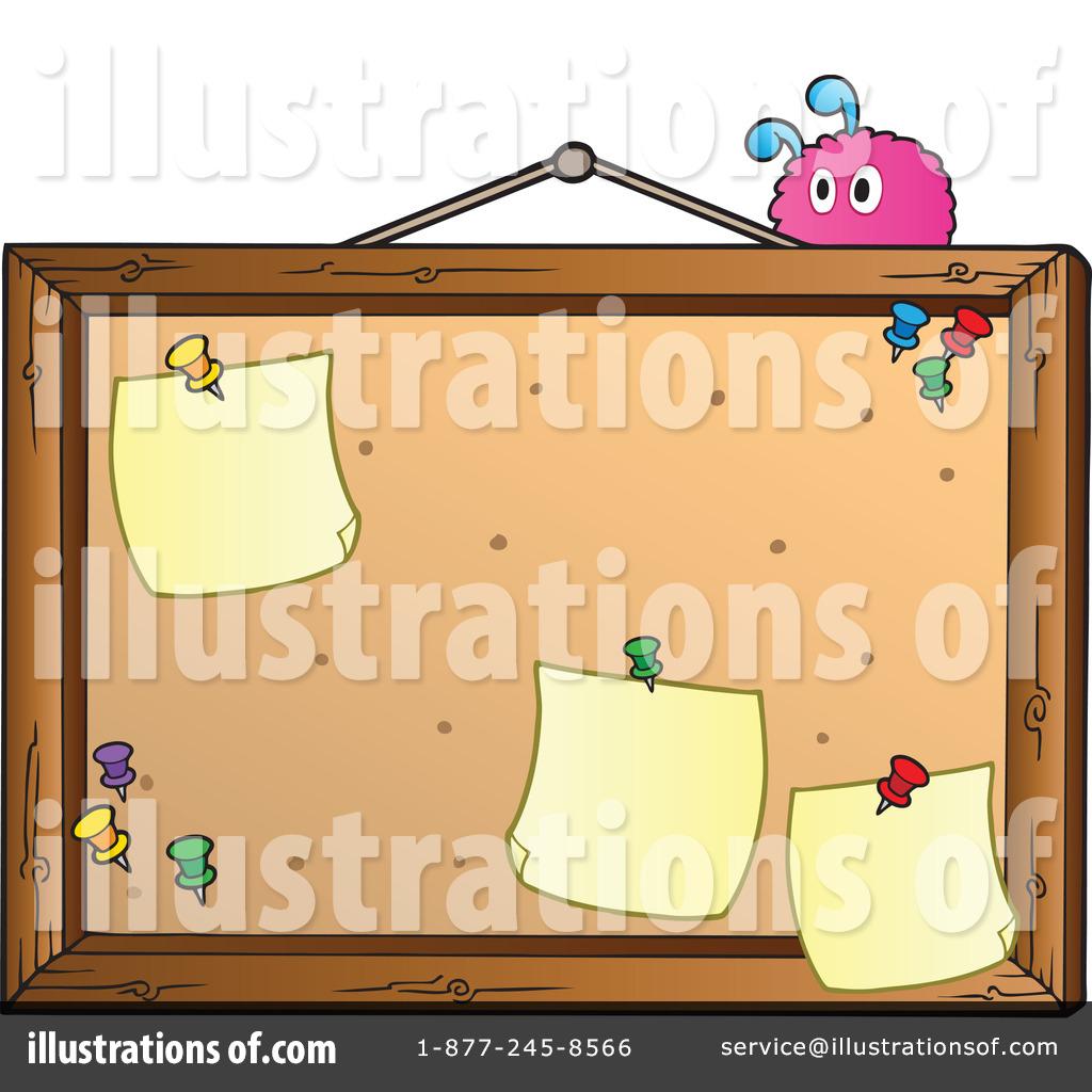 Bulletin Board Clipart #1067085.