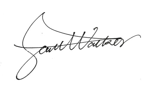 sample signature.