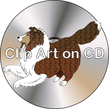 Clip Art on CD.