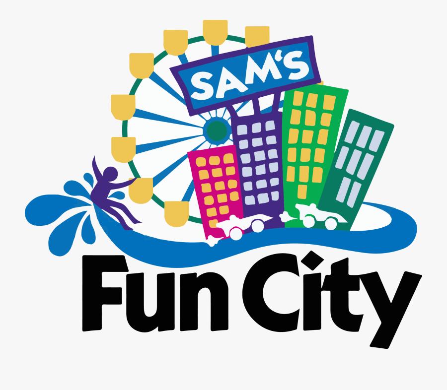 Sam\'s Fun City Logo Png , Free Transparent Clipart.