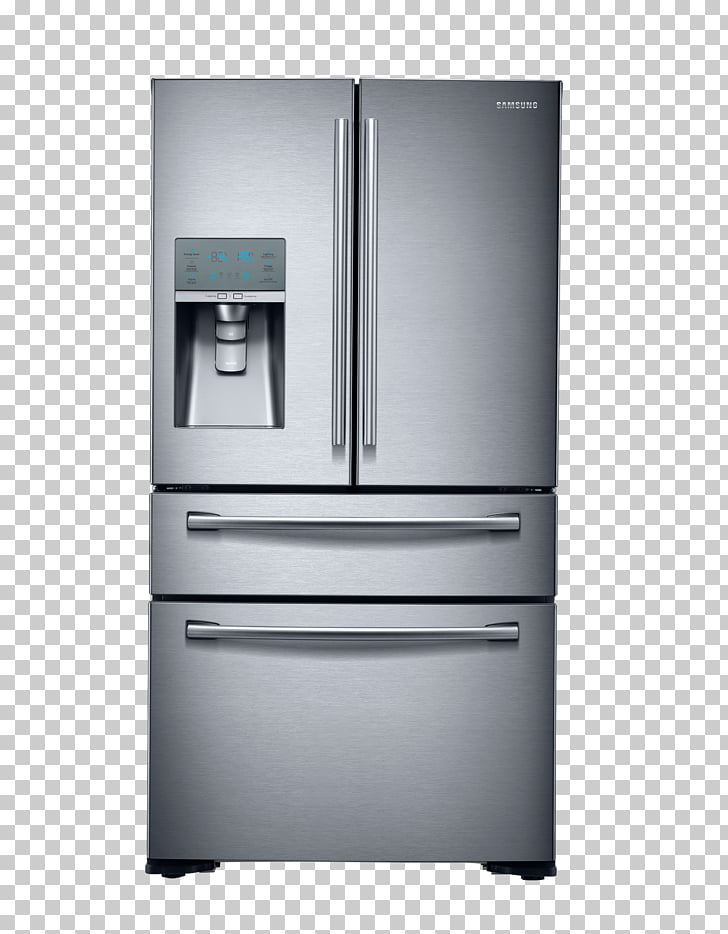 Refrigerator Stainless steel Samsung Home appliance.