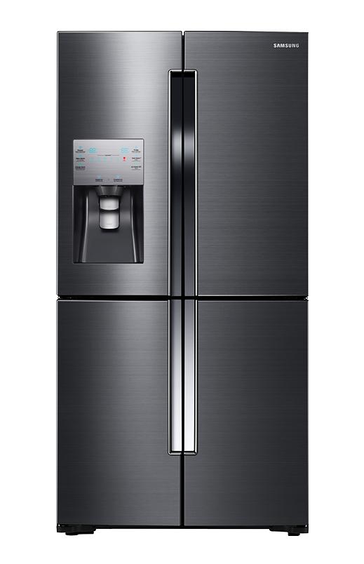 Samsung Bottom Freezer and French Doors Refrigerator.