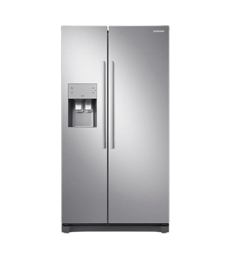 Samsung SRS556DLS 556L Ice & Water Side by Side Fridge Freezer.