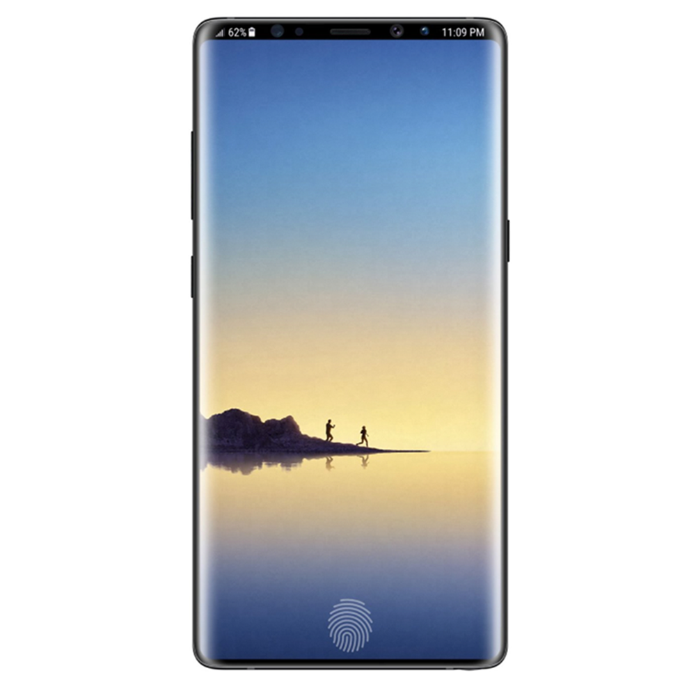 Samsung Galaxy Note 9 3D Curved Tempered Glass (black.