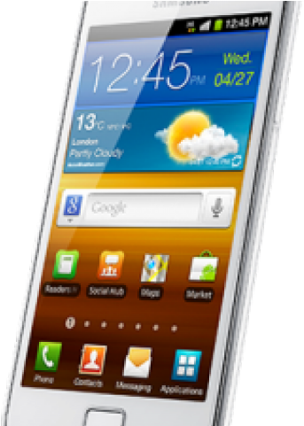Download Samsung Mobile Phone Clipart Hand Png.