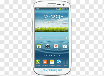 Samsung Galaxy S III Mini cutout PNG & clipart images.