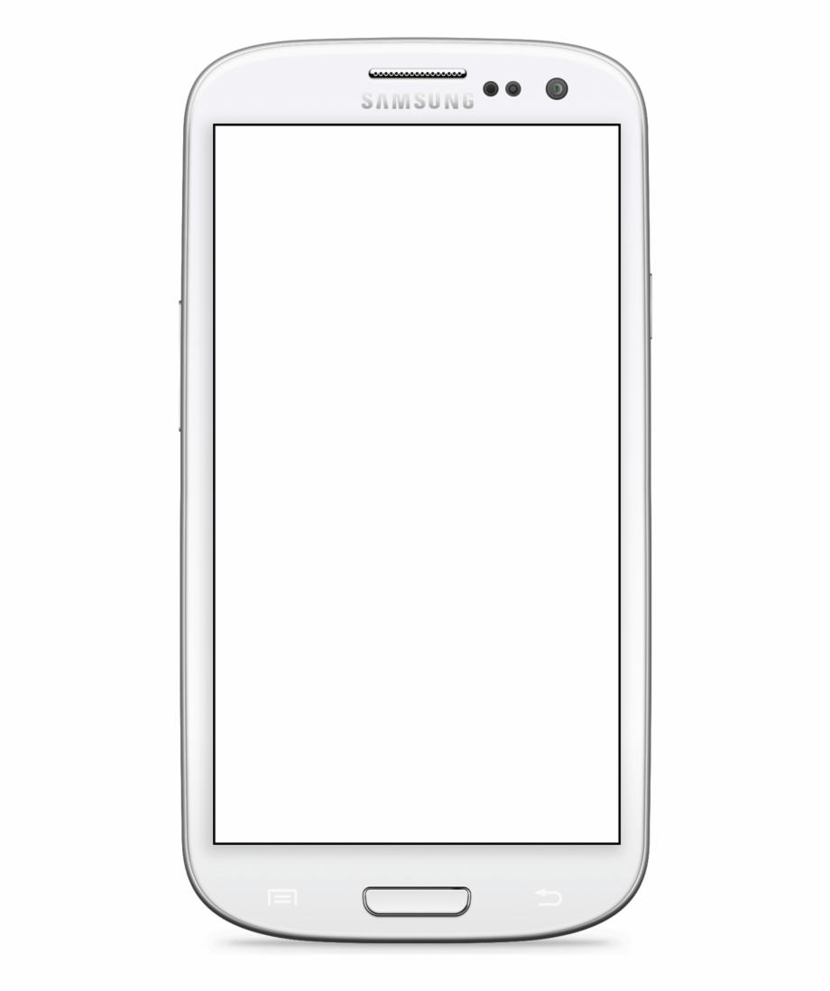 Transparent Samsung Galaxy S3.