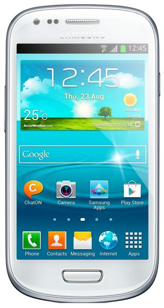 Samsung Galaxy S3 Mini.