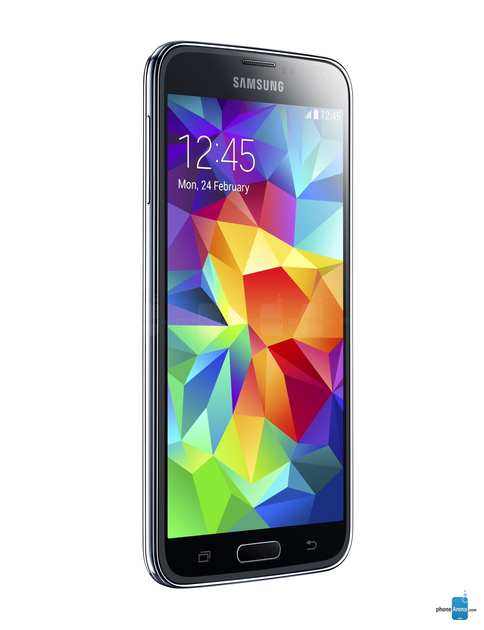 Galaxy S5 Clipart Size.
