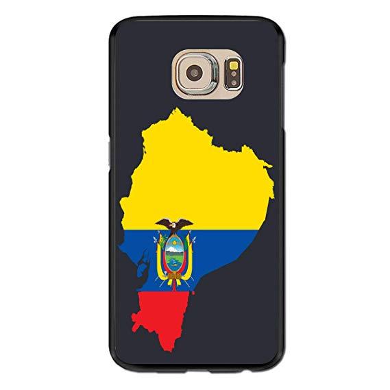 Amazon.com: Samsung Galaxy S6 Case Clipart Ecuador Flag Map.