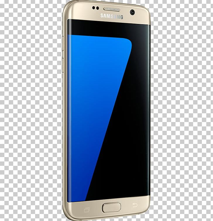 Samsung GALAXY S7 Edge Android Smartphone Telephone PNG.