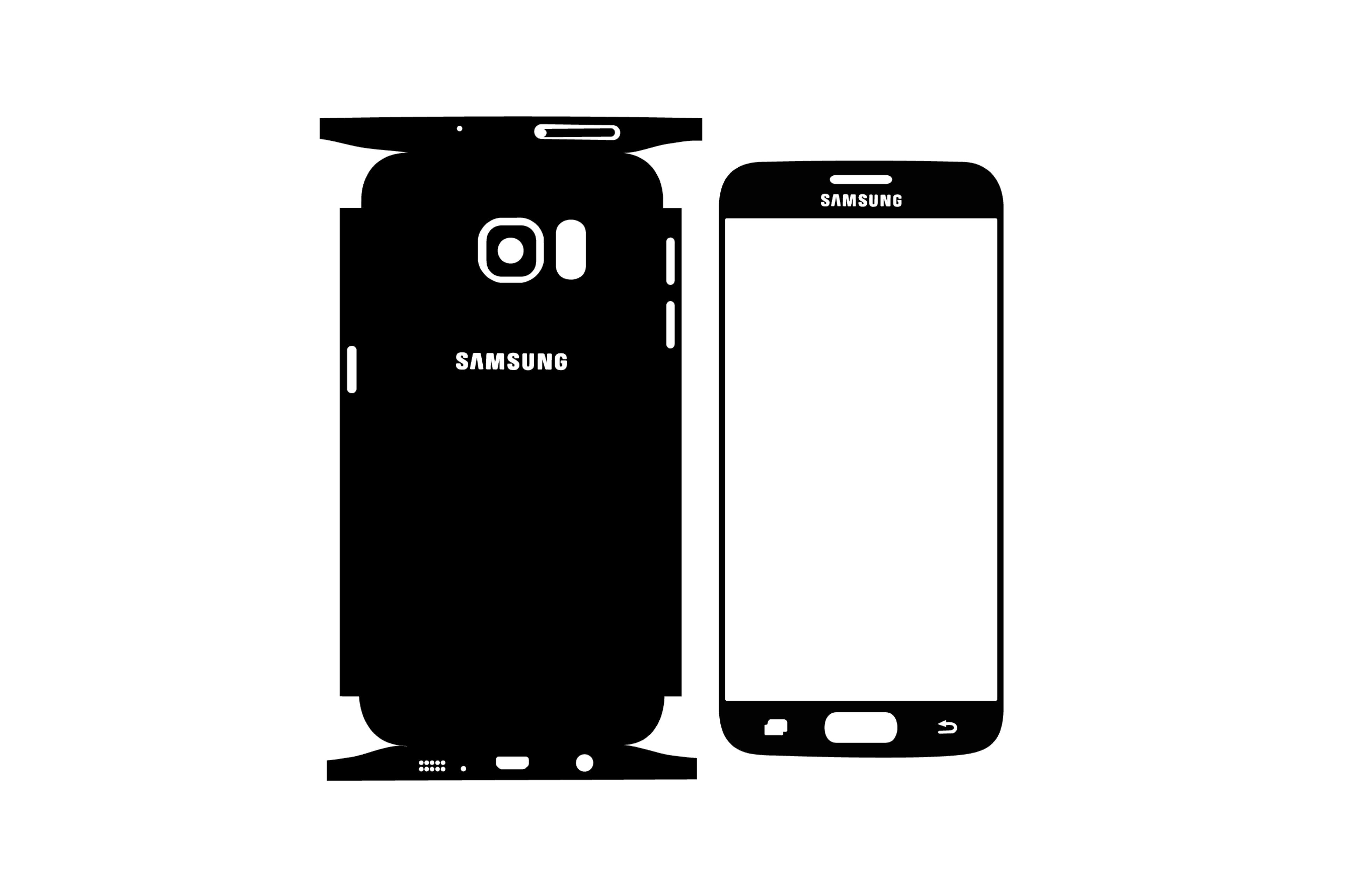 Samsung Galaxy S7 FLAT.