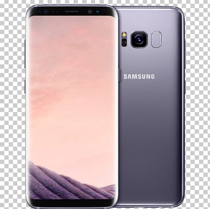 Samsung Galaxy S8+ Samsung Galaxy S Plus 4G Orchid Gray PNG.
