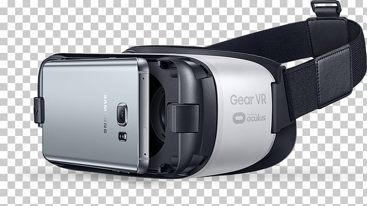 Samsung Gear VR With Smartphone, white and black Samsung.