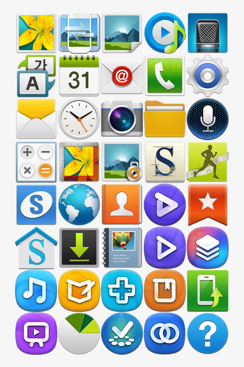 Samsung Galaxy Clipart Phone Icon.