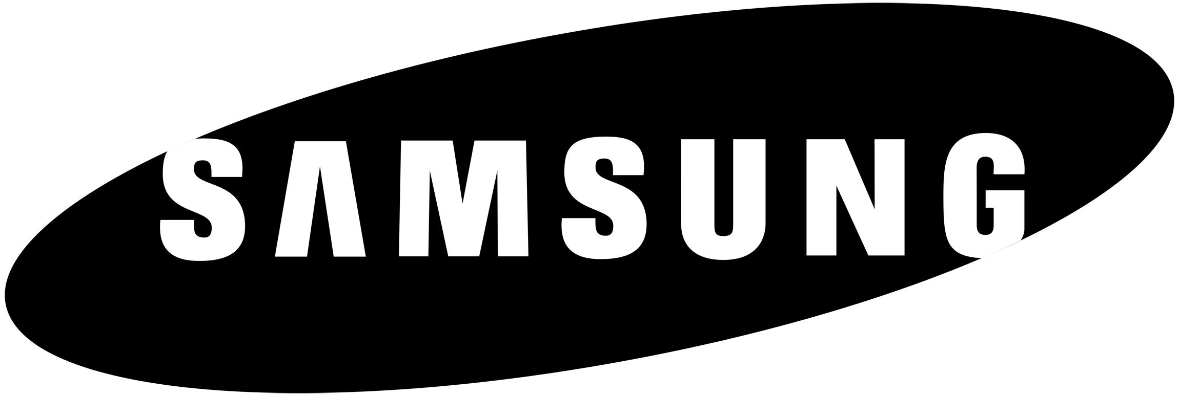 Samsung Logo DXF File Free Download.