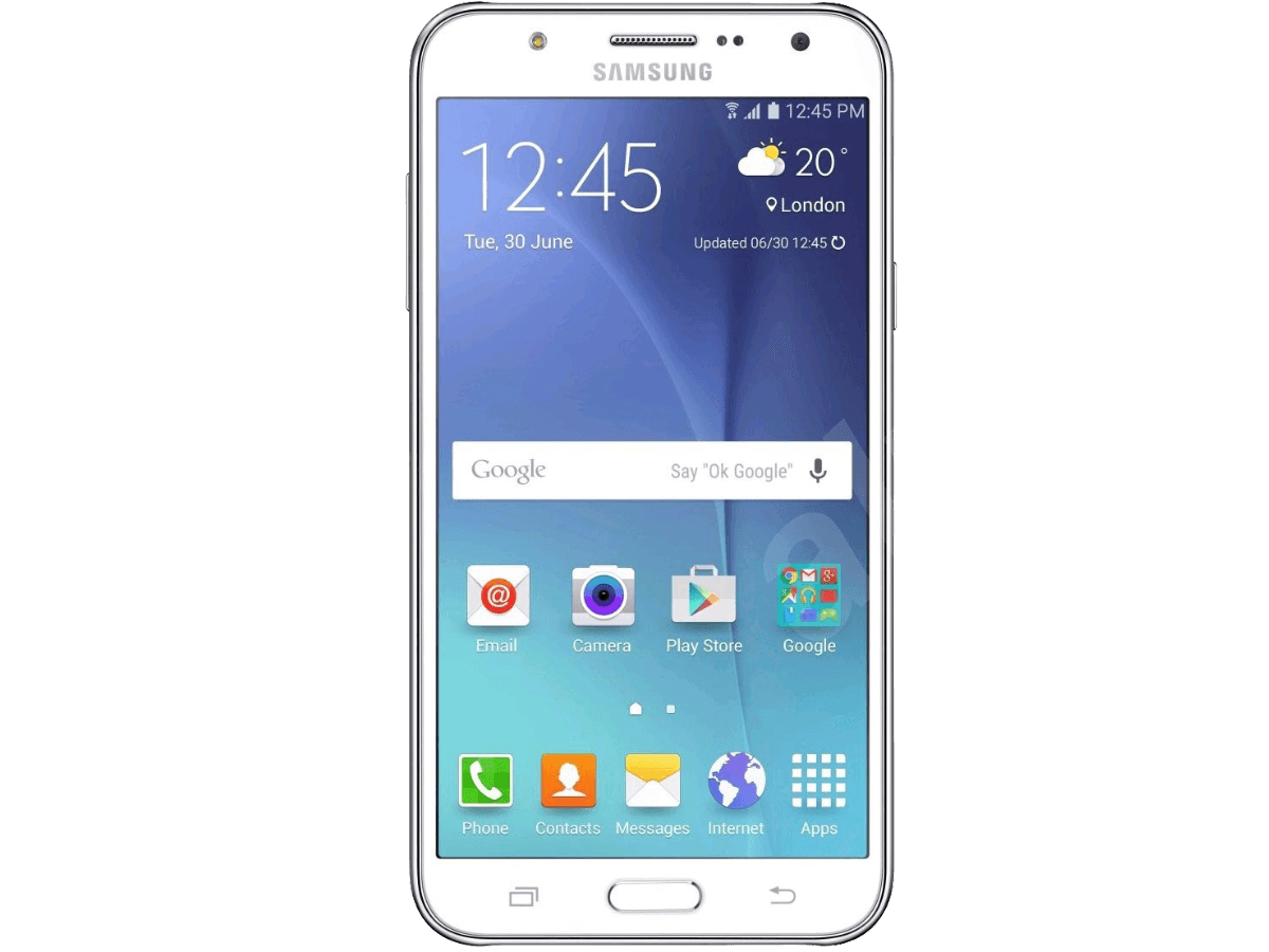Samsung Mobile Phone PNG Image.