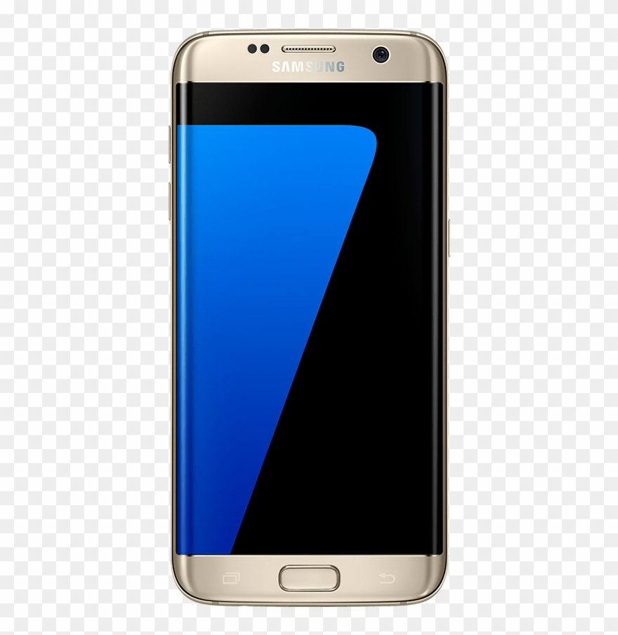 Samsung S7 Front View Mockup.