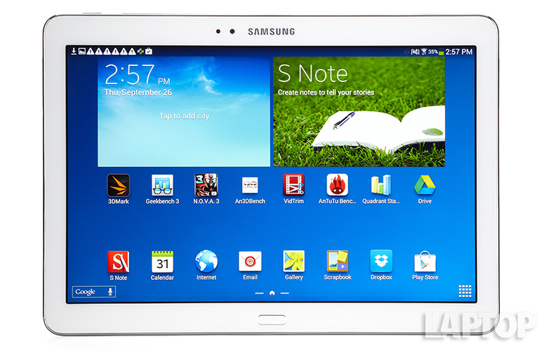 Samsung Galaxy Note 10.1 Review.