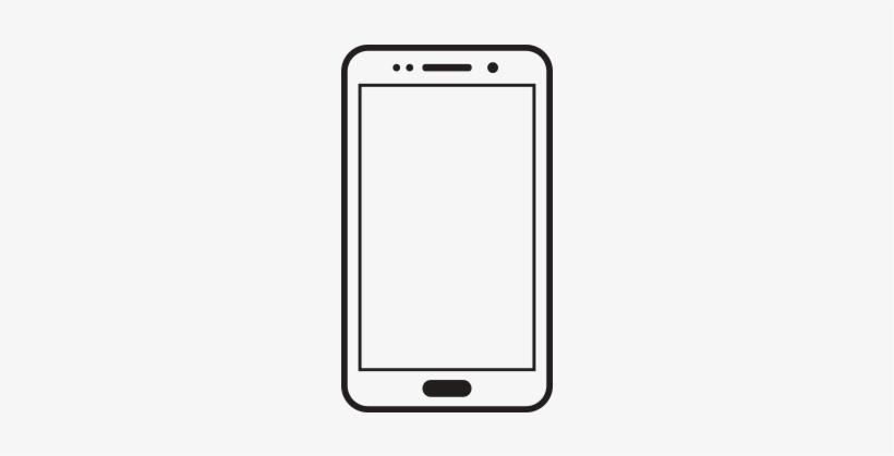 Samsung Galaxy Clipart White Cell.