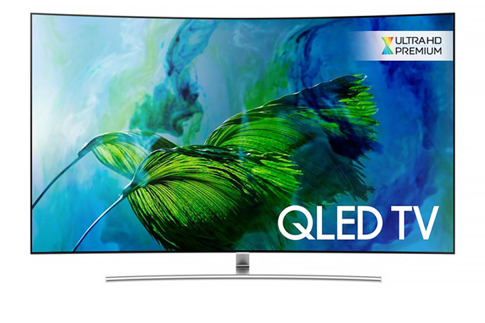 2017 Samsung QLED TV Lines Gain Ultra HD Premium.