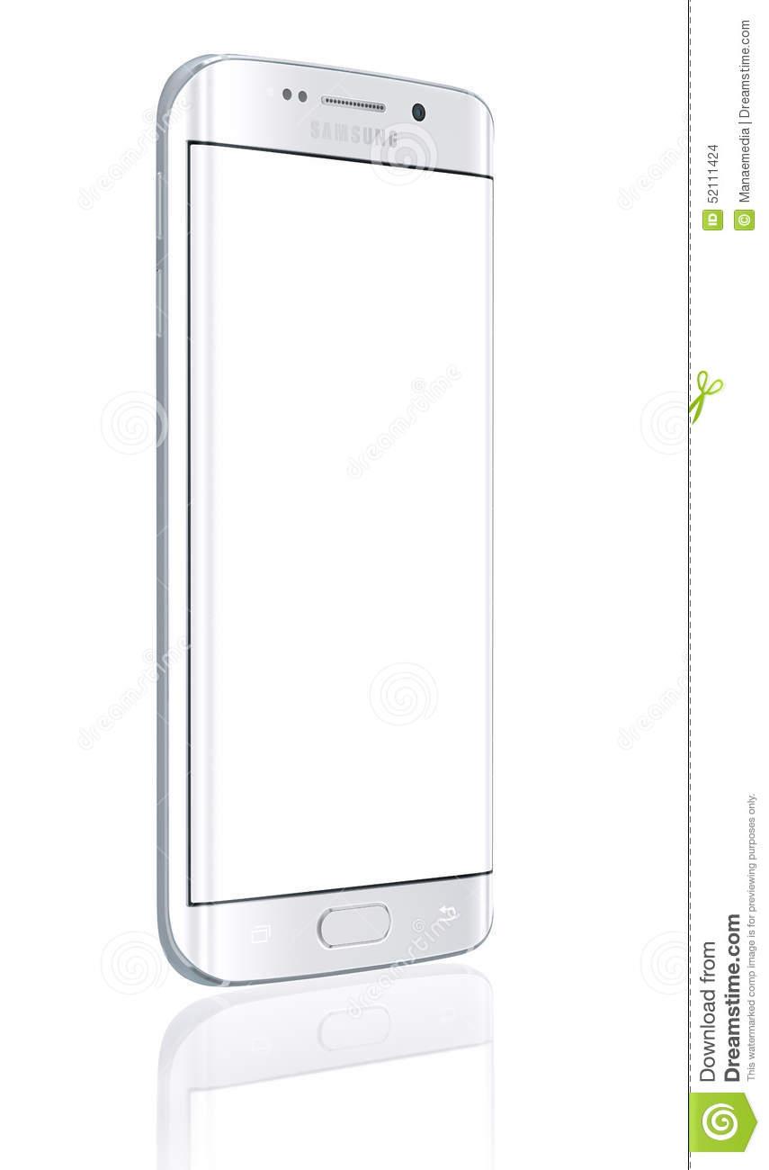 Samsung Galaxy Home Screen Clipart.