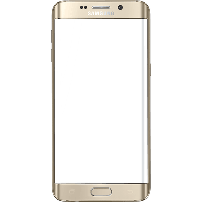 Hand Holding Samsung transparent PNG.