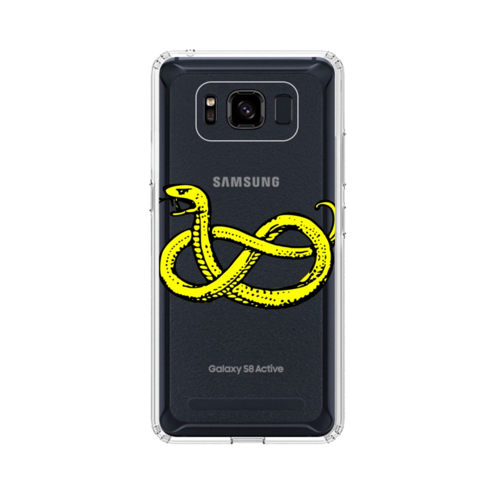 Clipart Of Snake Samsung Galaxy S8 Active Case.