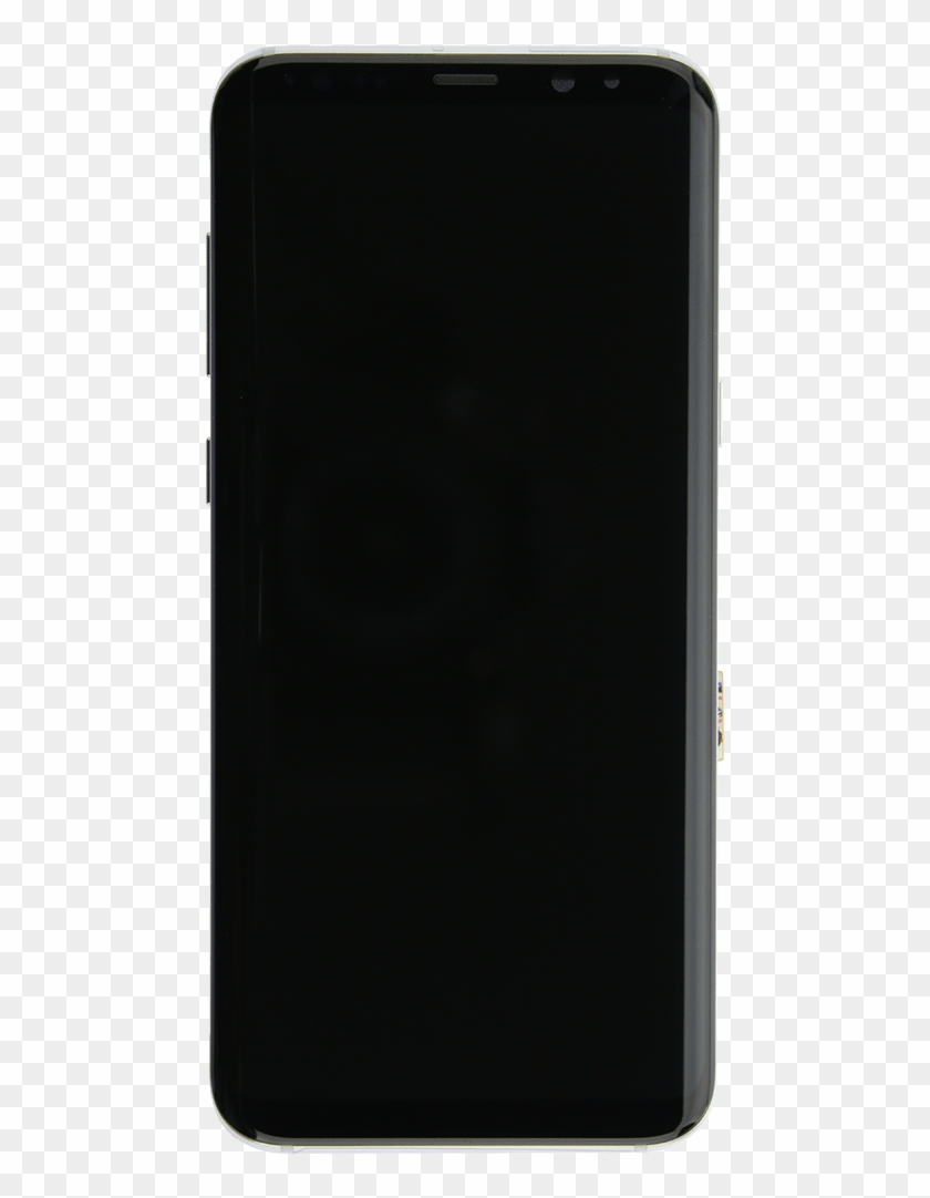 Samsung Galaxy S8 Silver Screen Assembly With Frame.