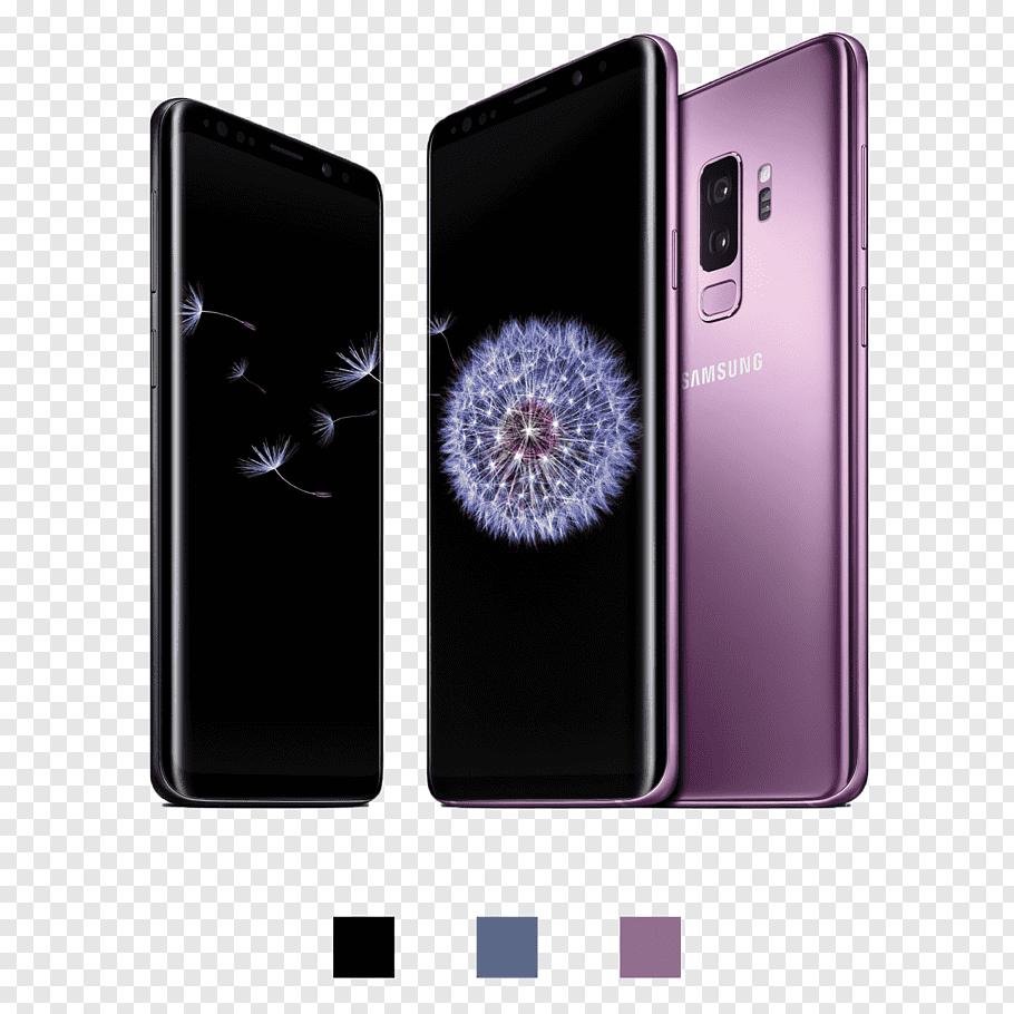 Pink Samsung smartphone collage, Samsung Galaxy S9 Samsung.