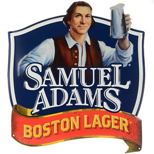 Details about SAMUEL ADAMS BEER LOGO POSTER 24 X 24 Inches BAR, MAN CAVE,  POOL, Billiards Room.