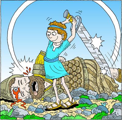 Image: David Beheading Goliath.