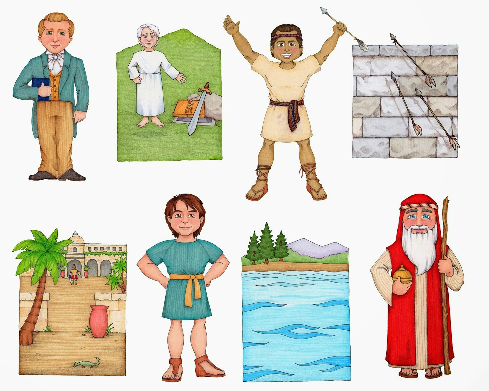 Samuel the lamanite clipart 5 » Clipart Portal.