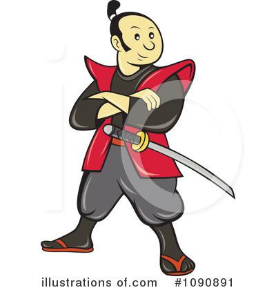 Samurai Clipart.