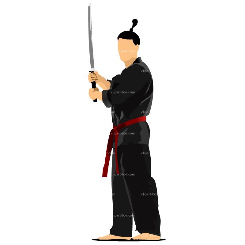 Samurais clipart #10