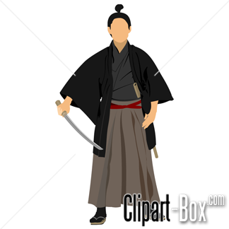 CLIPART SAMURAI WARRIOR.