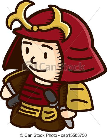 Samurai Warrior Clipart.