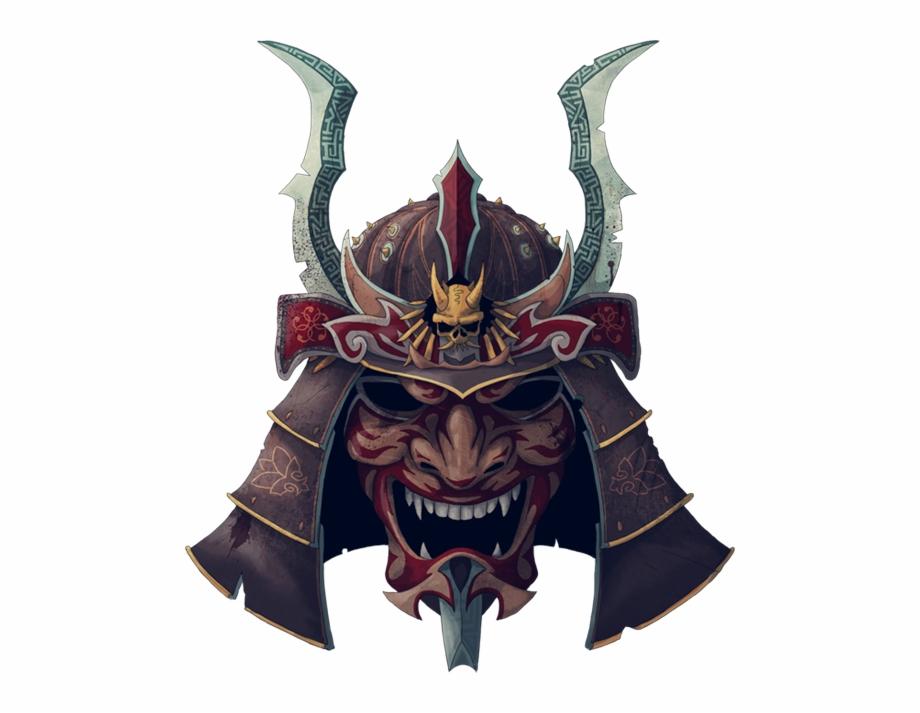 Samurai Helmet Png.