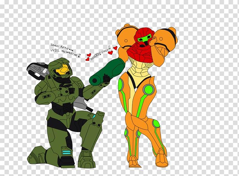 Master Chief Samus Aran Metroid Halo Character, unicórnio.