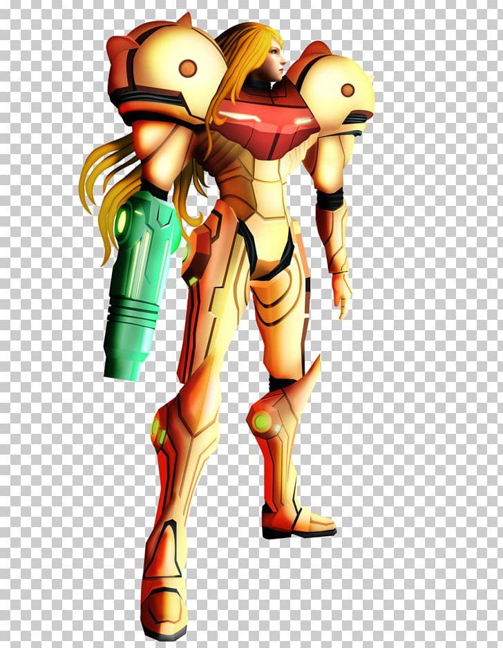 Metroid Prime 3: Corruption Samus Aran Graphics Illustration.