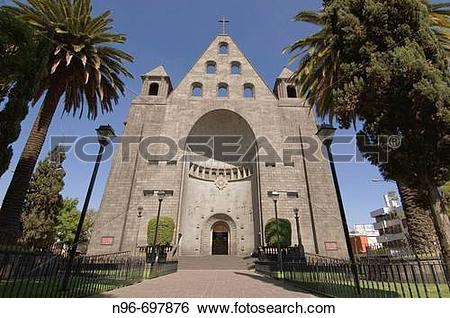 Stock Images of Church of San Agustin, Polanco, Mexico City.