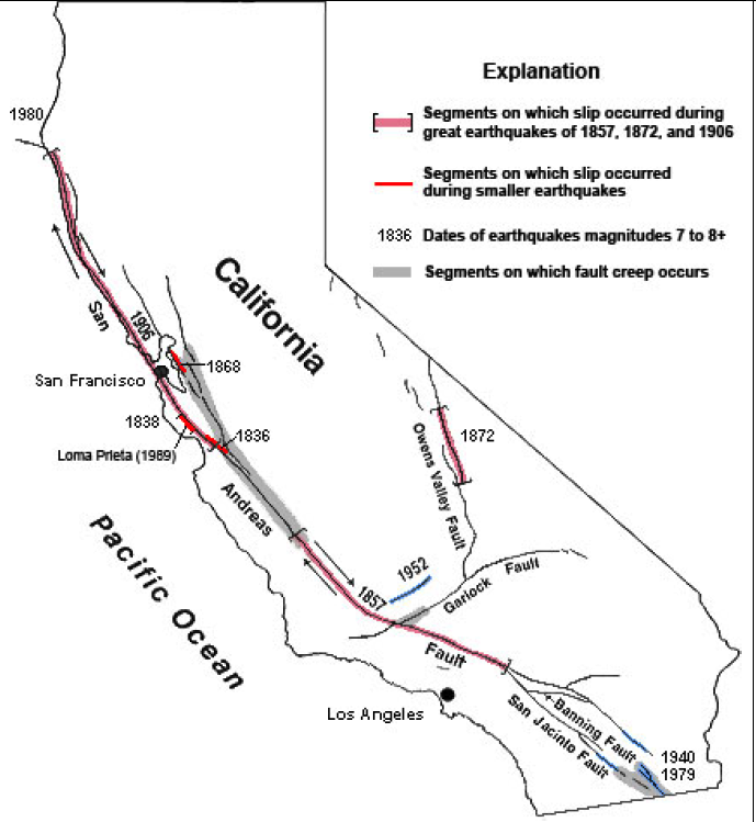 San Andreas Clipart.