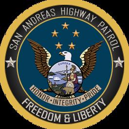 San Andreas Highway Patrol.