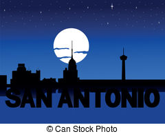 San antonio skyline Clipart Vector Graphics. 45 San antonio.