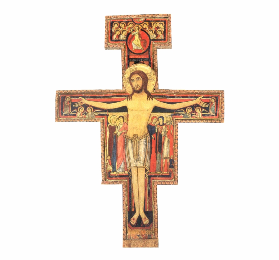 San Damiano Cross Free PNG Images & Clipart Download.